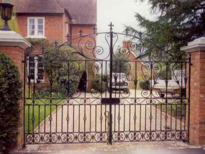 Ascott Entrance Gates