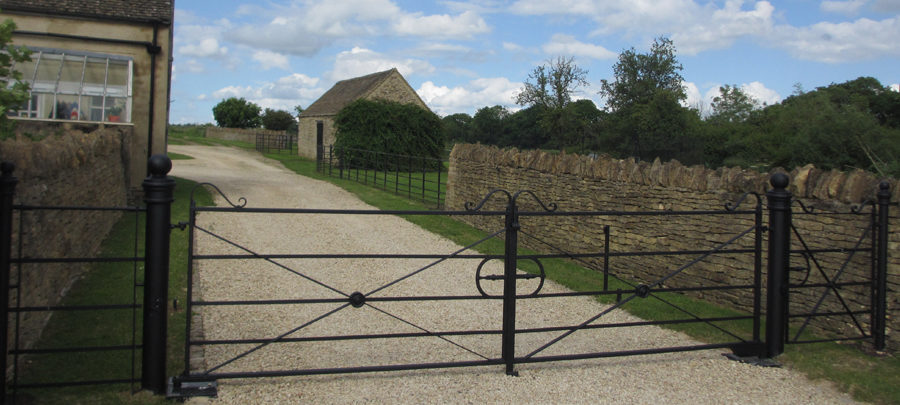 1.8m Double Estate gate