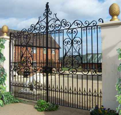 Georgian Entrance Gates. 