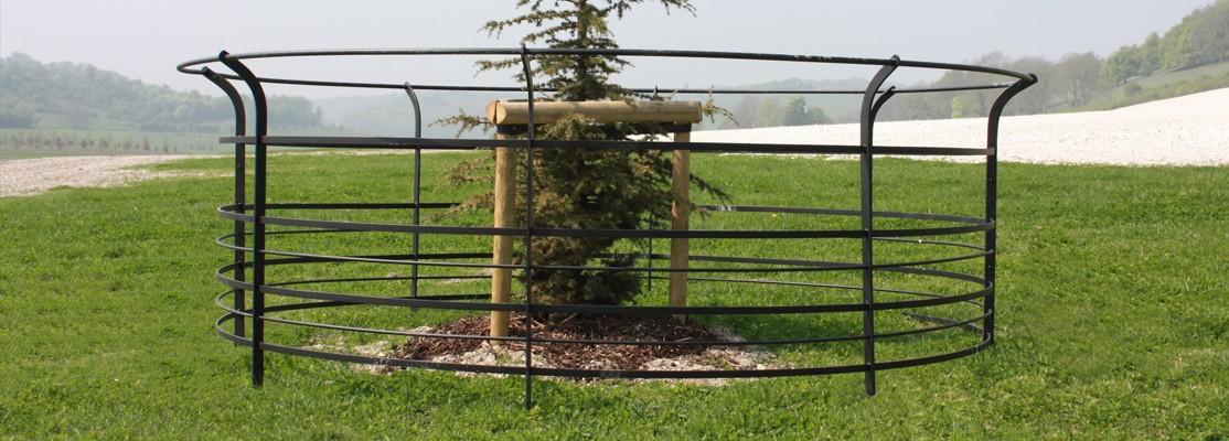Short Estate Tree Guard