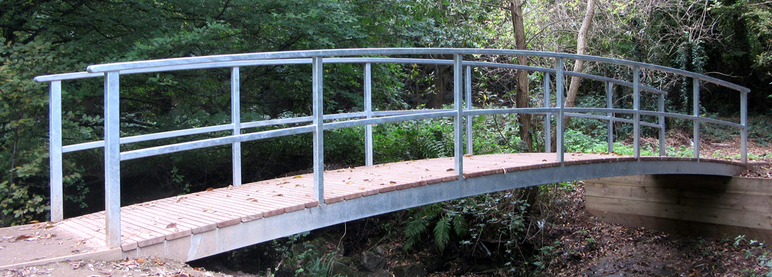 Bespoke Monet Bridge – Galvanised Only